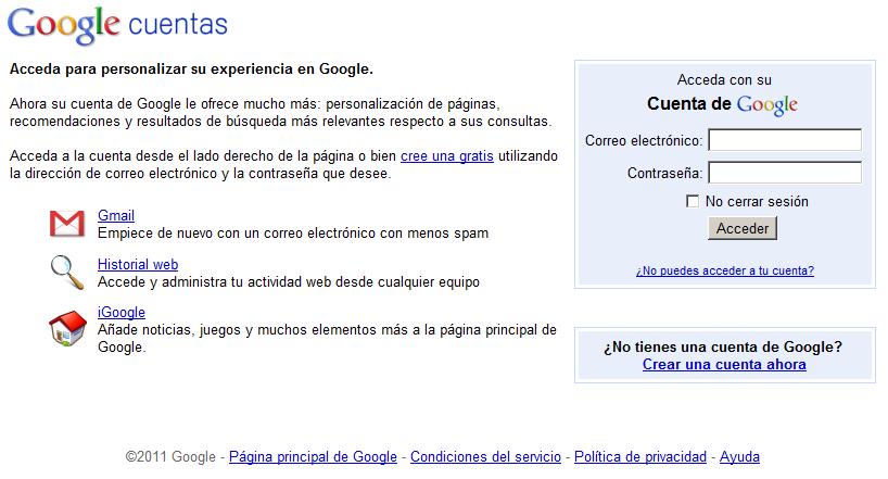 Google añade más seguridad a sus cuentas