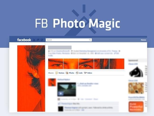 FB Photo Magic, personaliza tu imagen en Facebook