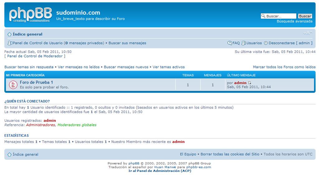 Tutorial: instala tu propio foro en un servidor web