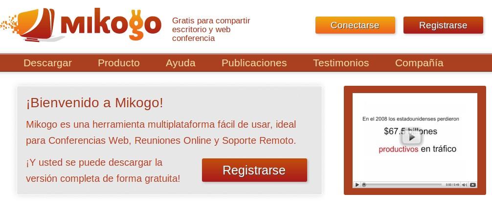 Crea conferencias online con Mikogo