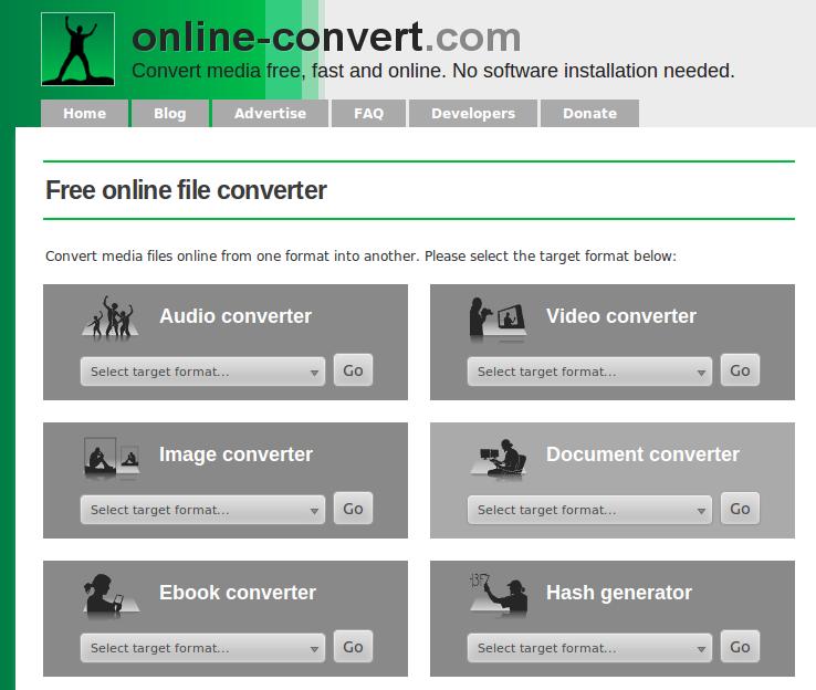 Online converter un potente conversor online y gratuito