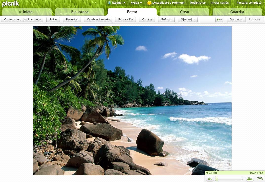 Picnik, un sencillo pero eficaz editor de imágenes online