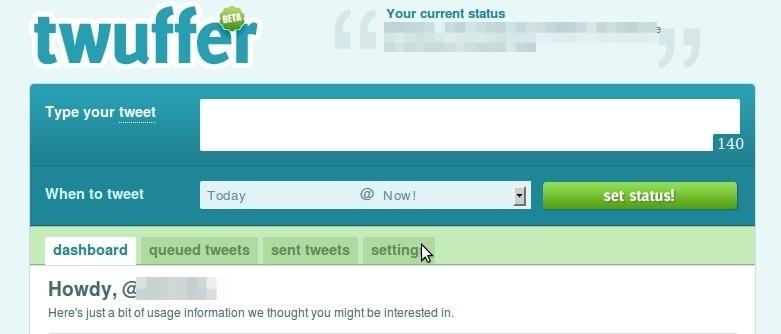 Cuatro webs para programar tus tweets