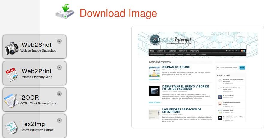 Conversores de imágenes, textos, archivos PDF y OCR online en una misma web