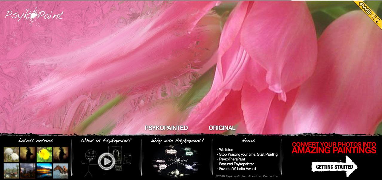 Convierte tus fotos en pinturas con Psyko Paint