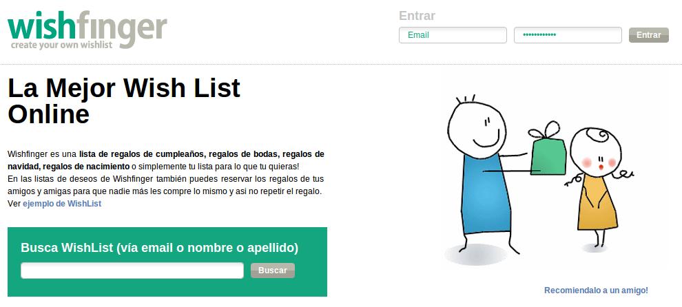 Wishfinger, una lista de deseos completamente gratis y en español