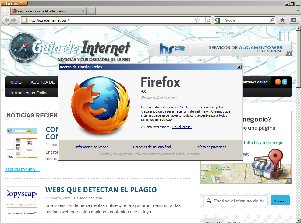 Firefox 4 ya disponible