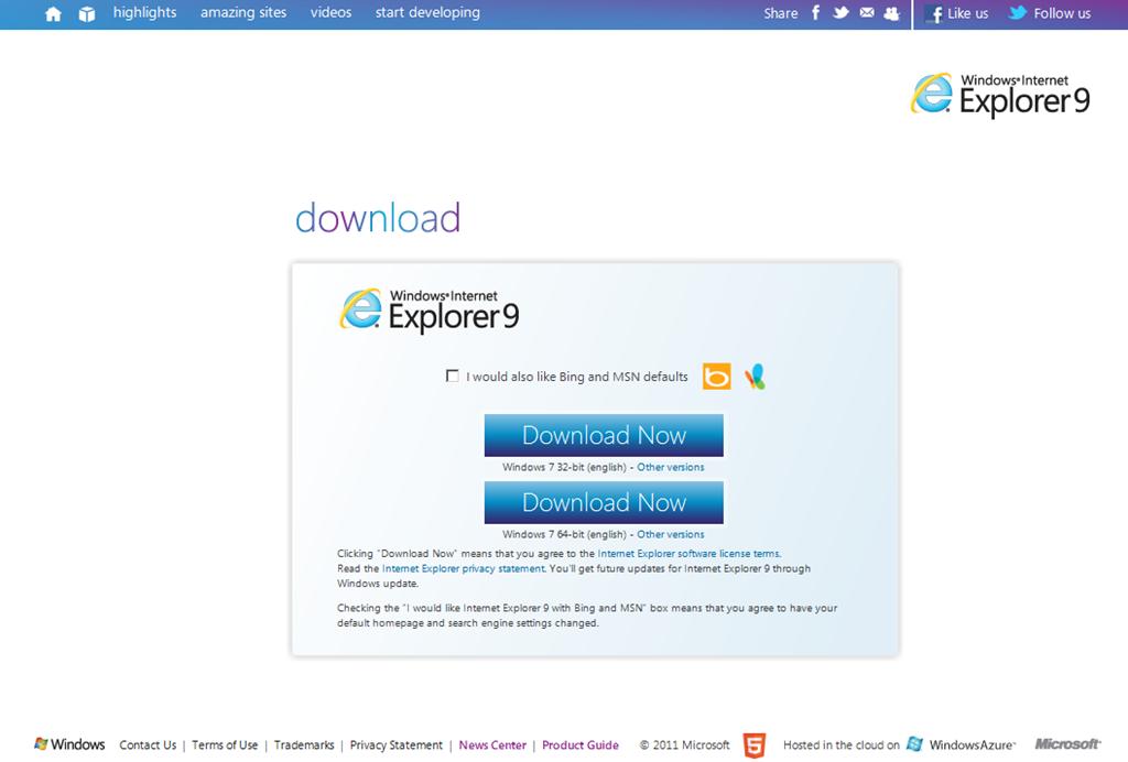 Por fin llegó Internet Explorer 9