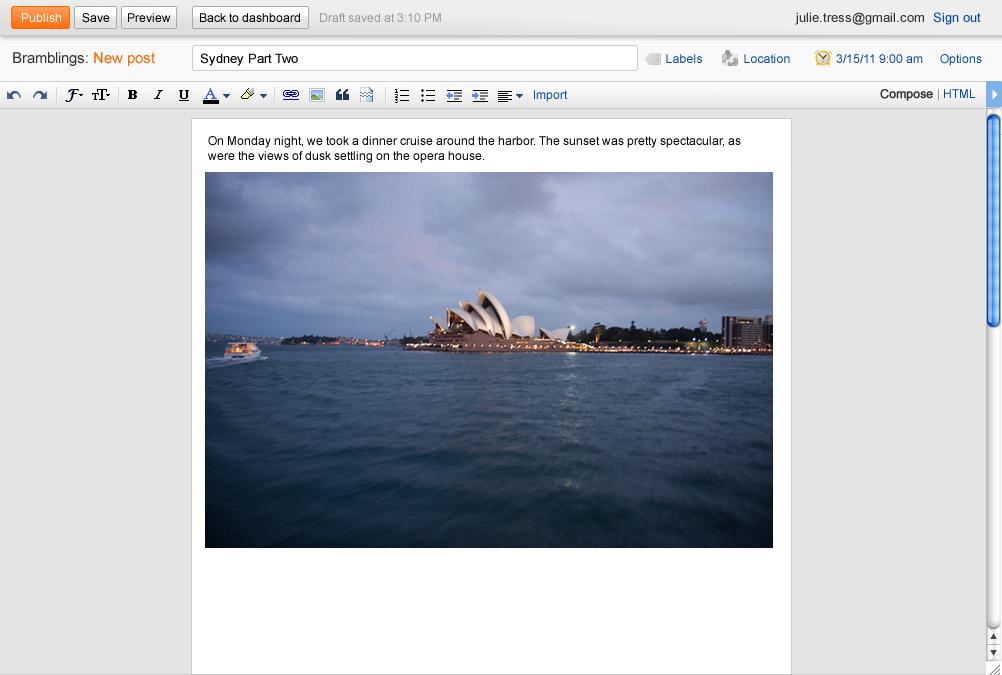 Google anuncia novedades en Blogger