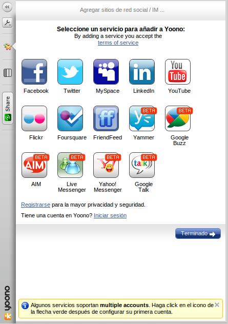 Plugins de Mozilla Firefox para gestionar las Redes Sociales