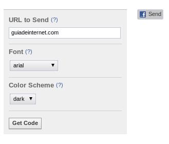 Cómo añadir el botón enviar (send) de Facebook a una web