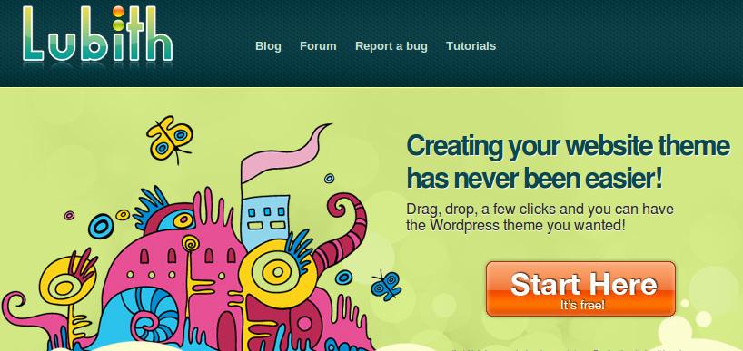 Diseña temas de WordPress online y gratis