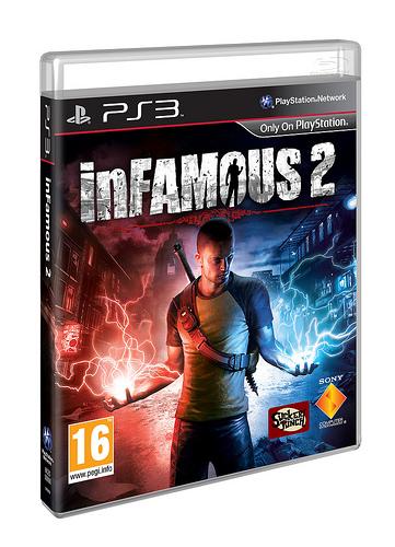 Anuncian inFamous 2 para el próximo mes de junio