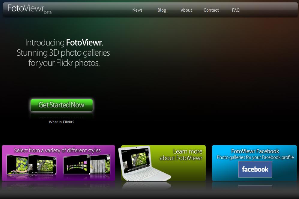 FotoViewr, galerías de imágenes para tu web