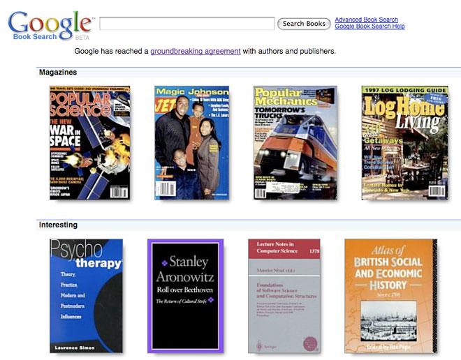 Google Books: una gran biblioteca online
