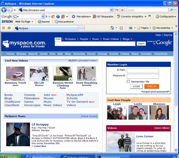 Justin Timberlake entre los compradores de MySpace