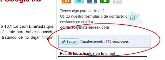 Cómo añadir un botón de seguir en Twitter
