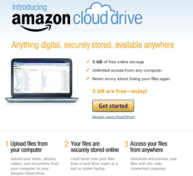 Amazon anuncia música ilimitada en la nube