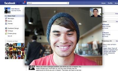 Facebook y su nueva función: videollamadas