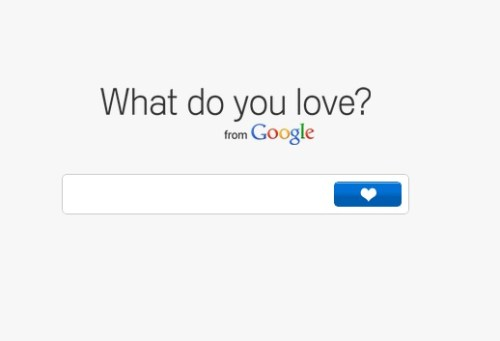 What Do You Love? La nueva experiencia de Google