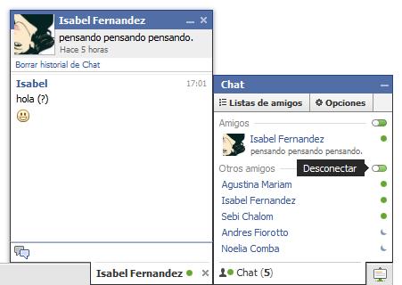 Abrir el chat de Facebook en la barra lateral de Firefox