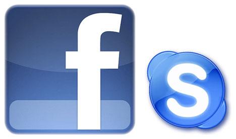Nueva alianza entre Facebook y Skype