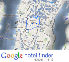 Nace el buscador de hoteles de Google