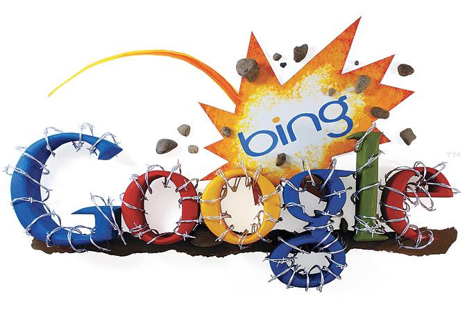 Los resultados de búsquedas de Bing son más efectivos que los de Google