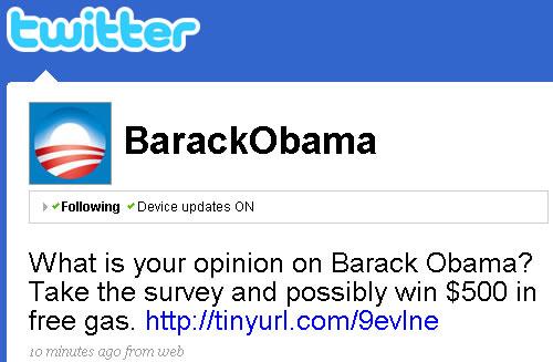 Obama perdió miles de seguidores en Twitter