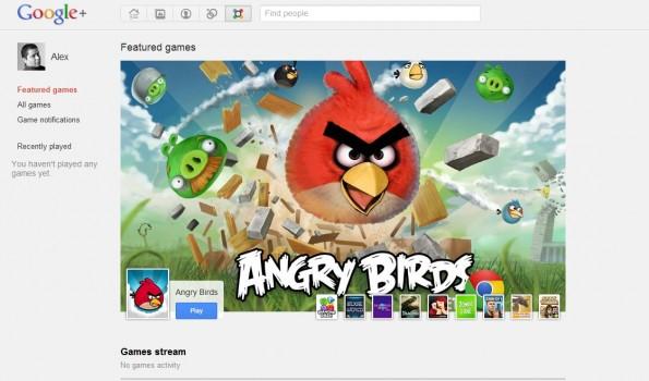 Los juegos llegan a Google +