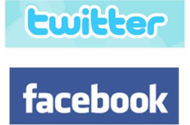 Facebook y Twitter registran millones de usuarios en tiempo récord