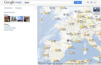 Google Maps nos da el tiempo