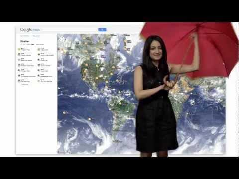 Google ahora con servicio meteorológico