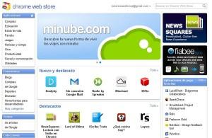 Chrome Web Store ya cuenta con versión española