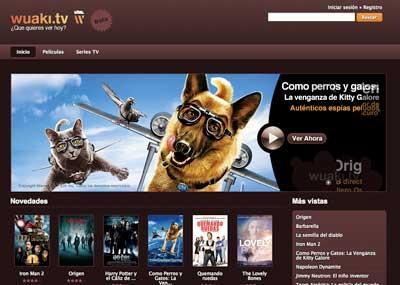 Llegan las películas en streaming a España