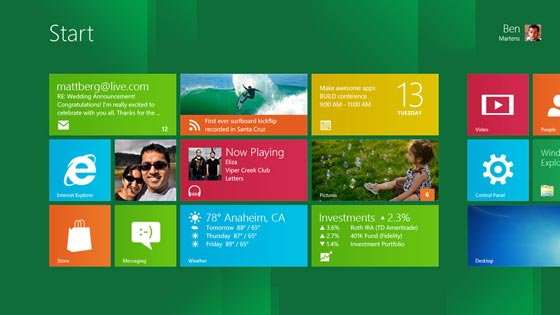 Windows 8 Inicio