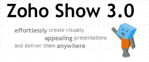 Crea presentaciones sin esfuerzo con Zoho Show 3.0