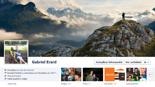Sitios de fotos para el nuevo perfil de Facebook