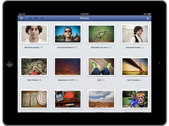 Facebook llega oficialmente al iPad
