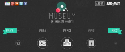 Museo de Objetos Obsoletos, una mirada a los gadgets clásicos