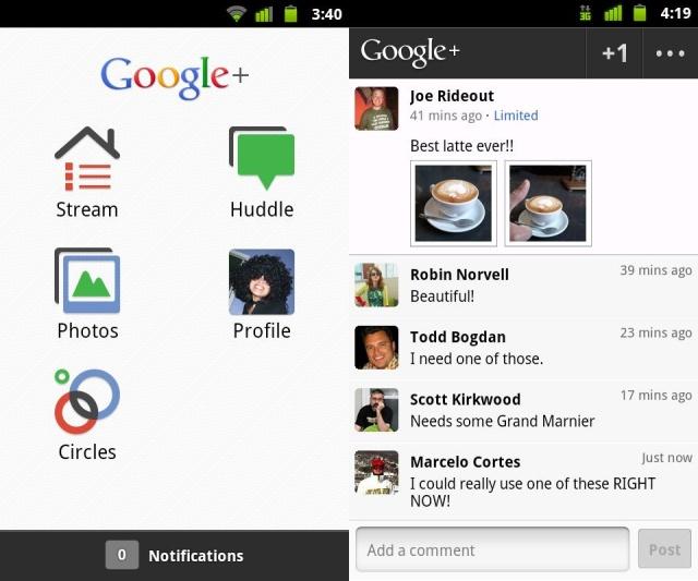 Llega el chat a la red social Google+