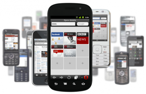 Opera Mini 6.5, disponible para iOS, BlackBerry, S60 y J2ME