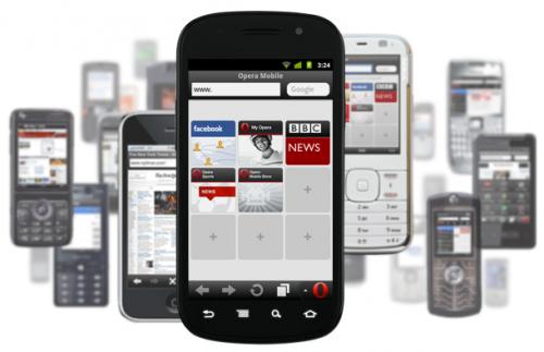 Opera Mini 6.5, disponible para iOS, BlackBerry, S60 y J2ME