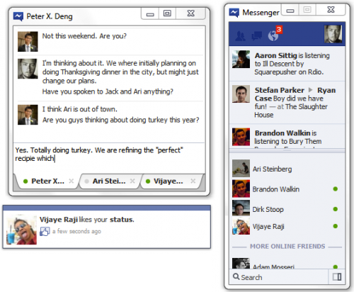 Facebook Messenger también desembarcará en Windows 7