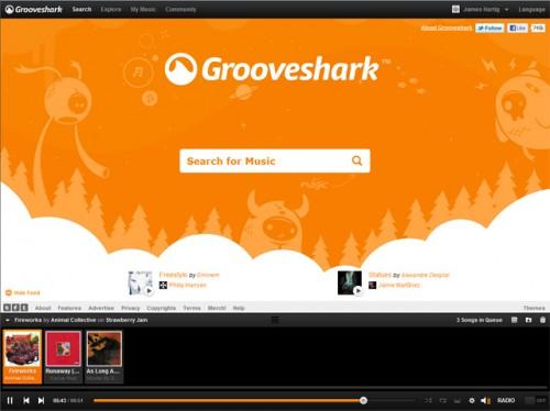 Grooveshark se rediseña y añade nuevas funciones sociales