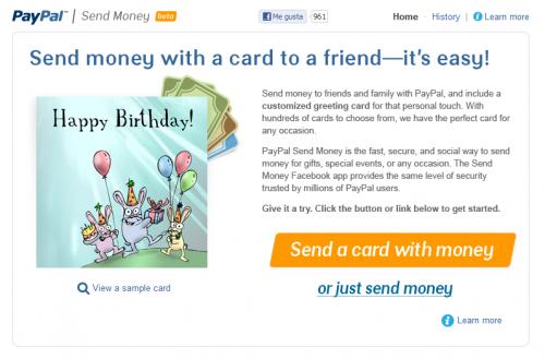 PayPal ahora permite enviar dinero a nuestros amigos desde Facebook