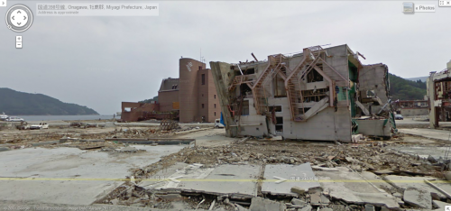 Los desastres naturales bajo la mirada de Google Maps y StreetView