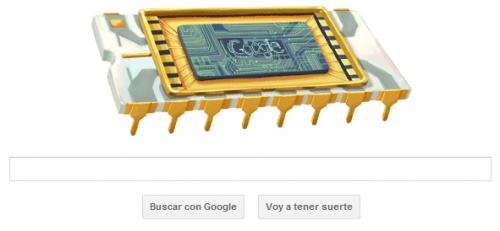 Google homenajea a Robert Noyce en su doodle