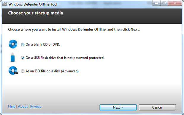 Microsoft presenta Windows Defender Offline