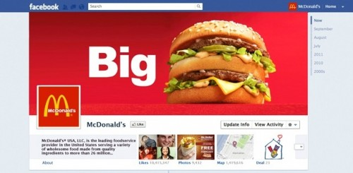 Según Facebook, todavía no habrá Timeline para páginas de marcas